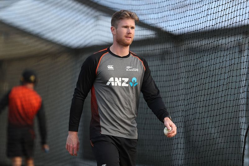 Jimmy Neesham has joined the Mumbai Indians.
