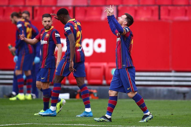 Barcelona were excellent against Sevilla