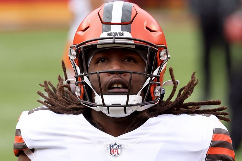 Cleveland Browns RB Kareem Hunt