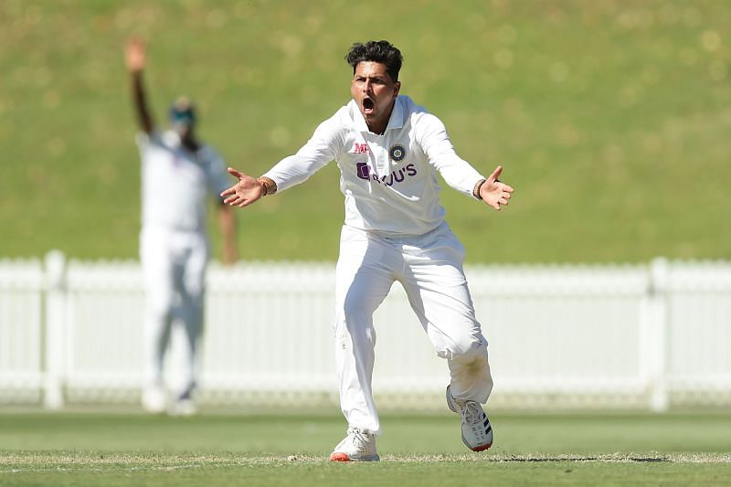 Kuldeep Yadav represented India A in the first tour game against Australia A in December