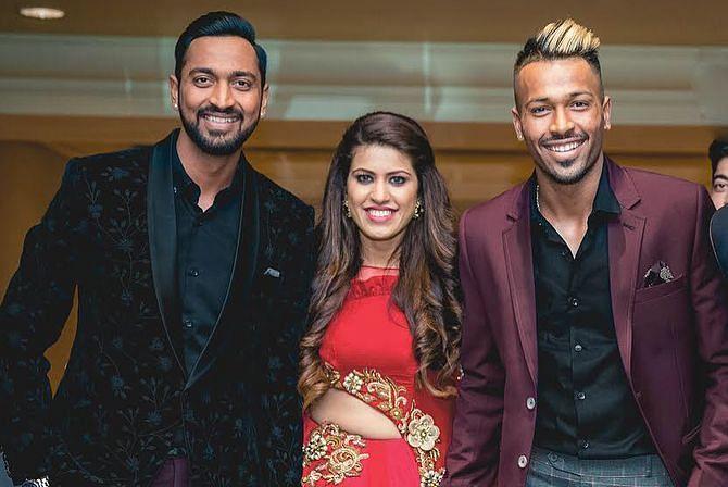 Krunal Pandya's Wedding Photo