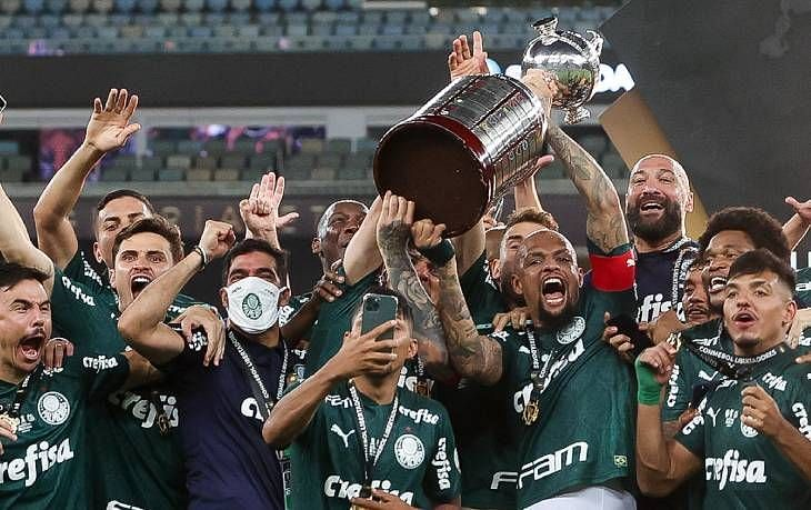 Palmeiras are looking to clinch another trophy after their Copa Libertadores triumph