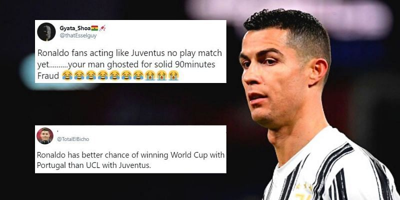 Cristiano Ronaldo blanked in Juventus