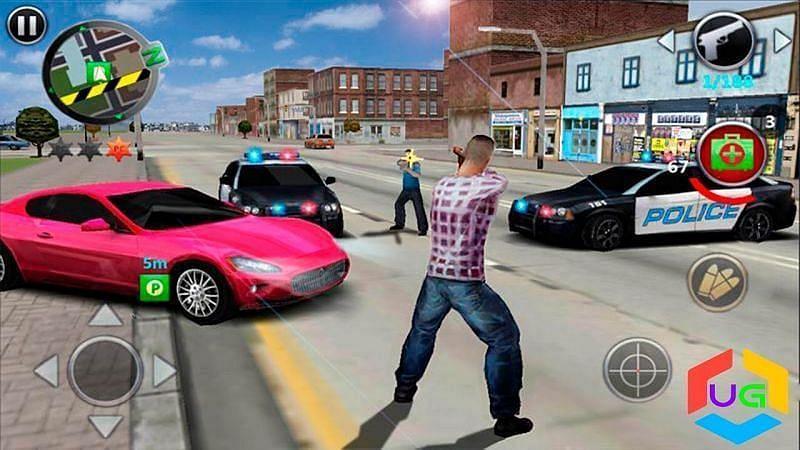 Grand Gangsters 3D (Image via GameScott, YouTube)
