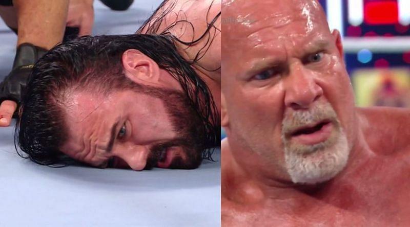 WWE Royal Rumble में हुआ गोल्डबर्ग vs ड्रू मैकइंटायर के बीच मैच