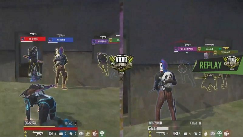 Free Fire India Championship 2021 spring League day 3