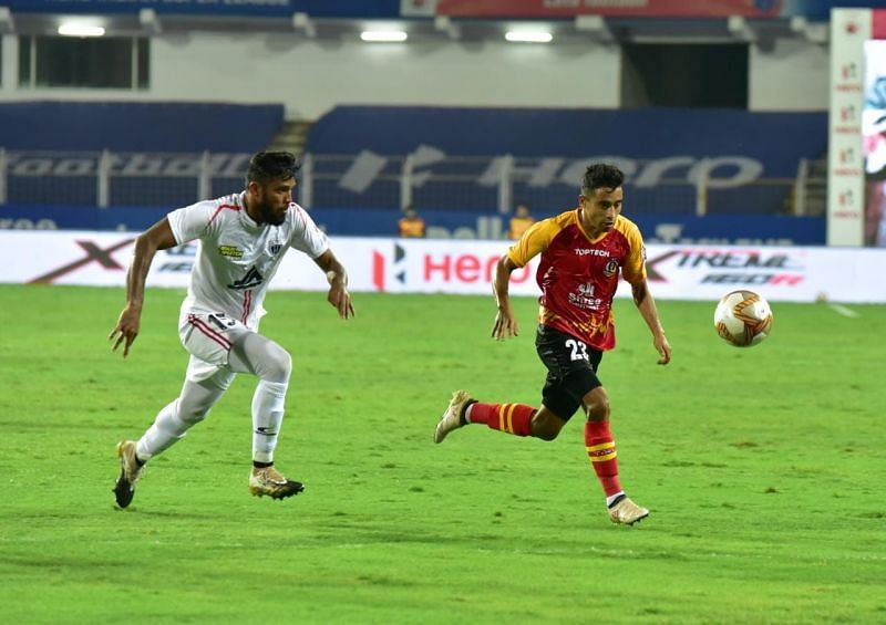 SC East Bengal are placed 9th in the standings. (Image courtesy: ISL)