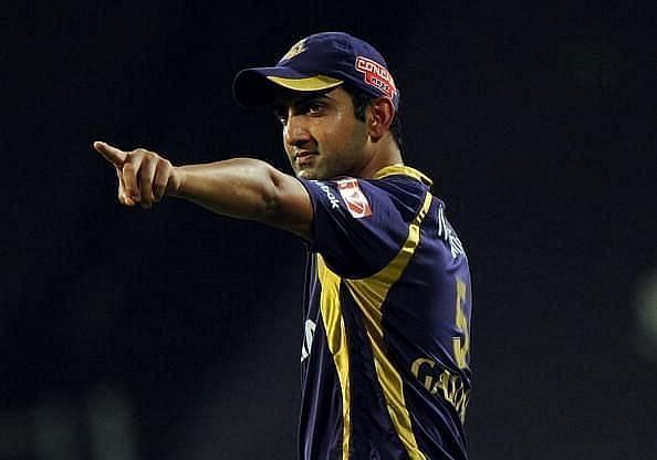Gautam Gambhir lead KKR to two IPL titles.