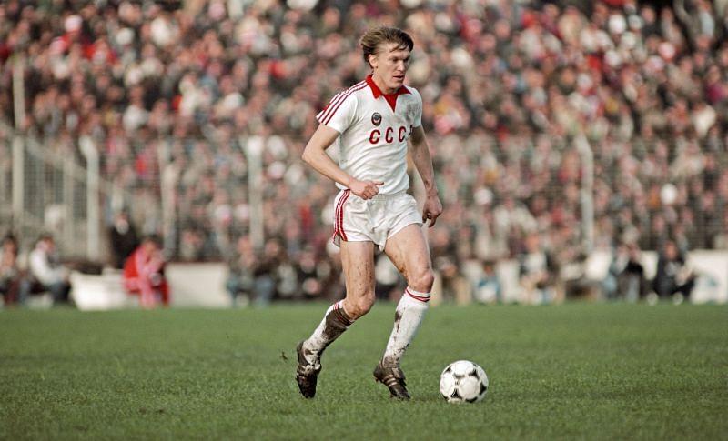 Oleg Blokhin was the winner of the Ballon d