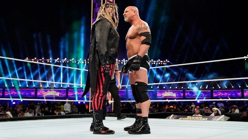 Goldberg and The Fiend in WWE