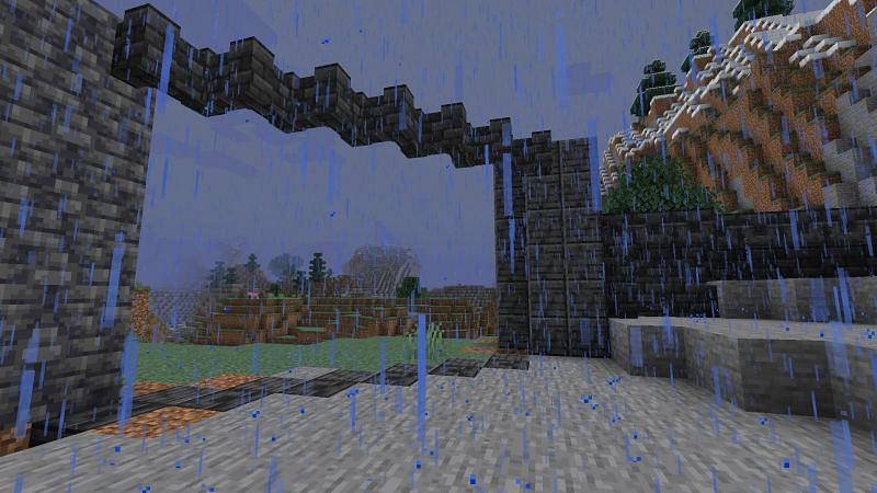A Deepslate Gate (Image via Minecraft)
