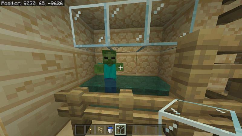 Zombie in Minecraft