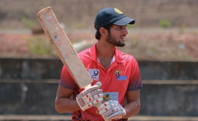 Suyash Prabhudessai was signed for hs base price by RCB