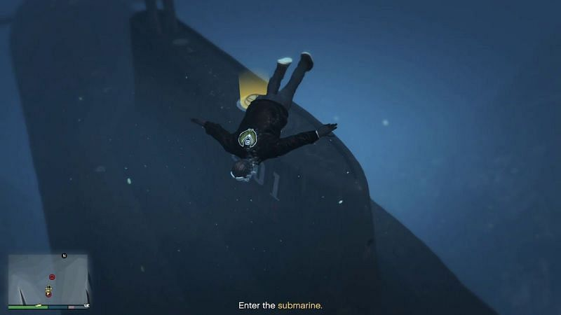 One of the prep missions for the Cayo Perico Heist requires the player to steal a sonar jammer from the Merryweather Test Site (Image via Echo Smart, YouTube)