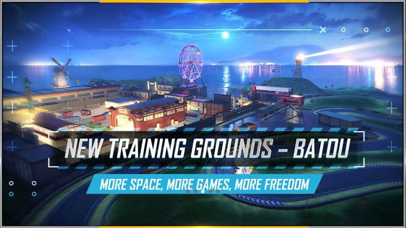The new training ground in Free Fire
