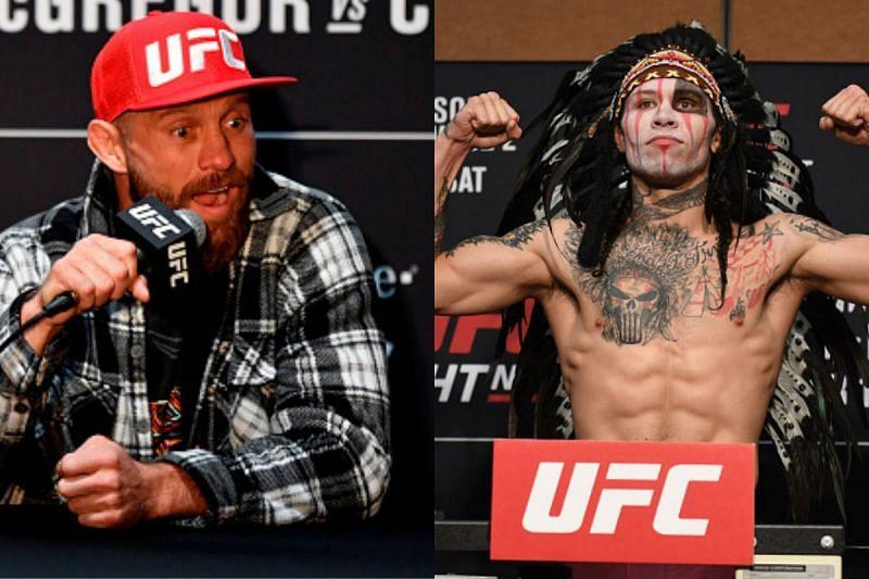 UFC stars Donald Cerrone and Brok Weaver