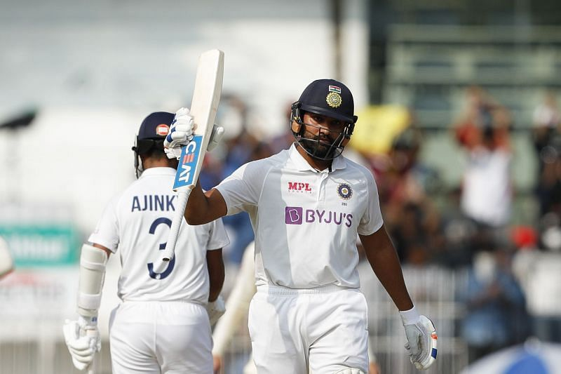 India are in a strong position at stumps on Day 1 in the second Test.