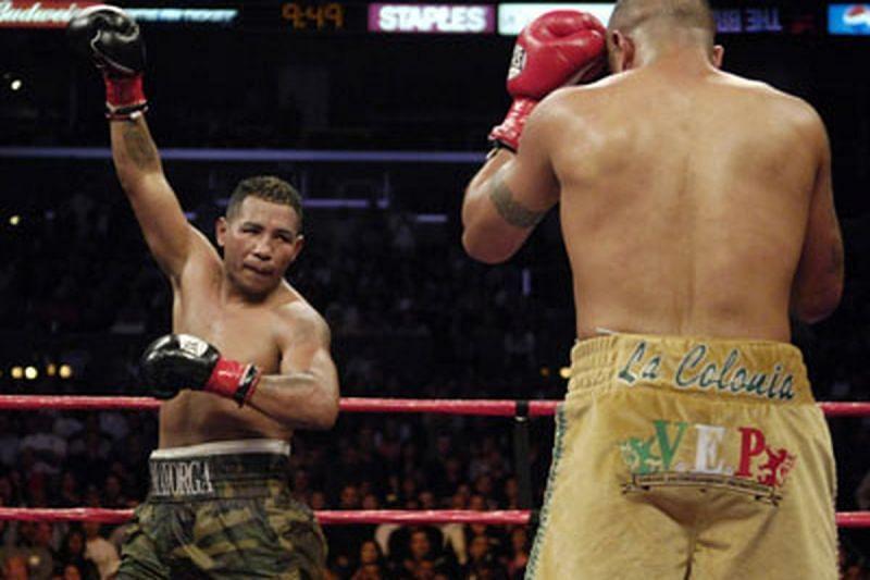 Ricardo Mayorga had a brief MMA career in 2013.