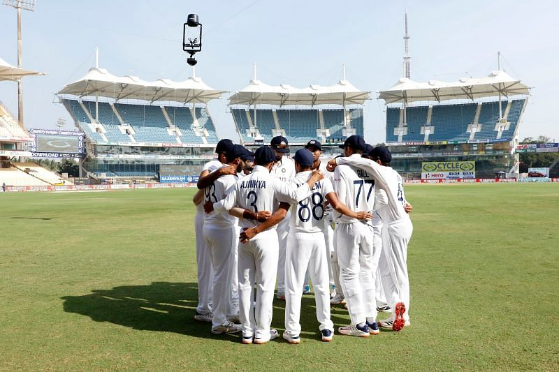 India are currently ranked fourth in the World Test Championship points table [Credits: BCCI]