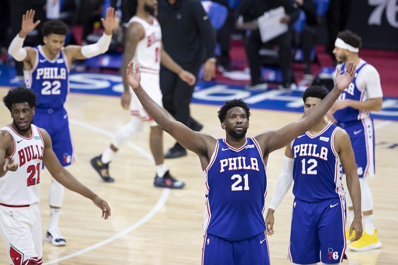 Chicago Bulls v Philadelphia 76ers