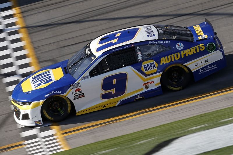 Chase Elliott got the short end of the stick at the 2021 O