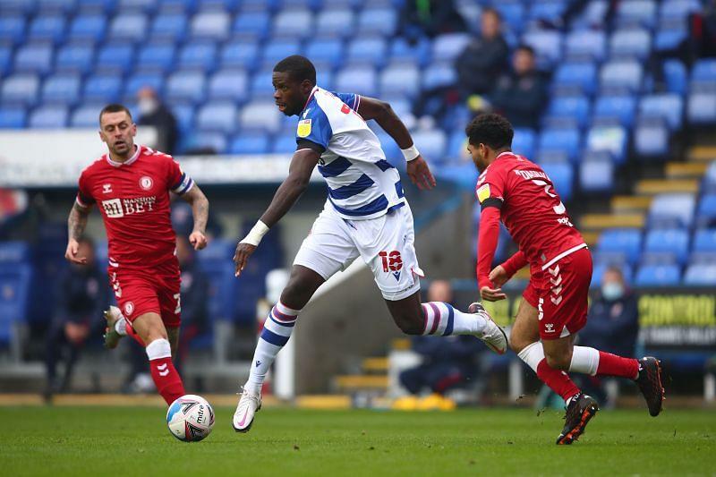 Reading dominated Bristol City back in November 2020