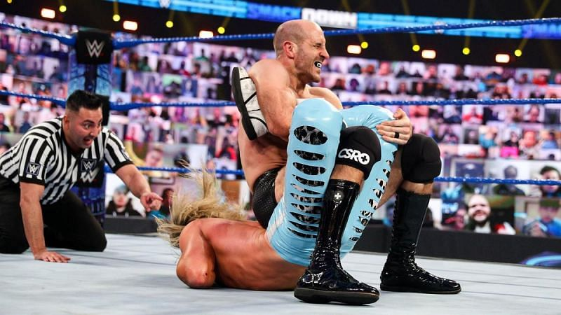 Cesaro deserves a big push on WWE SmackDown