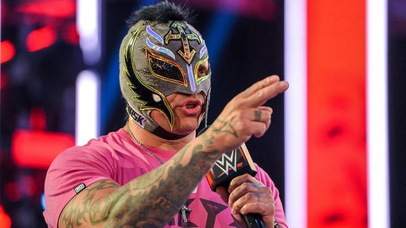 Rey Mysterio is getting up there in terms of his age