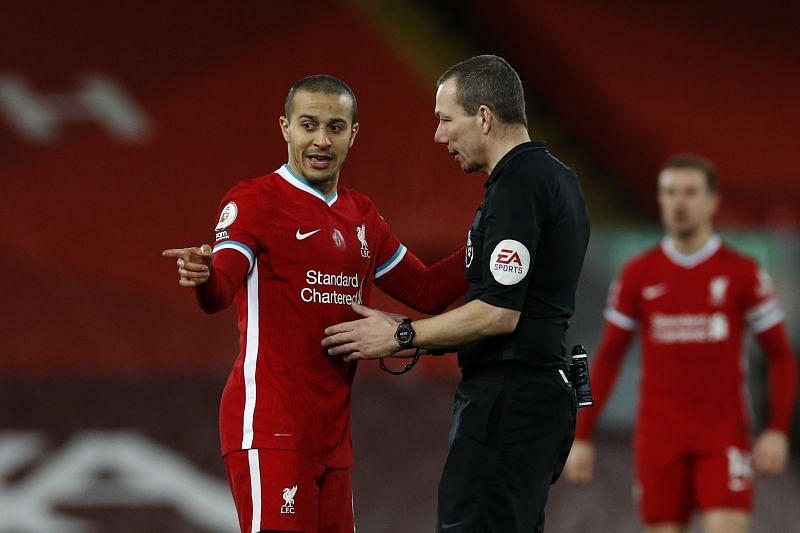 Thiago Alcantara has made a slow start to life as a Liverpool player
