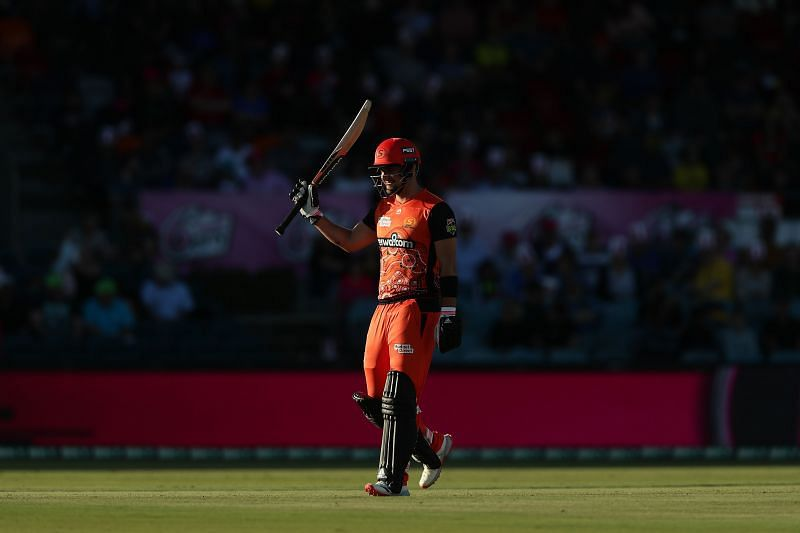 Liam Livingstone scored a fifty for the Perth Scorchers in the BBL Challenger