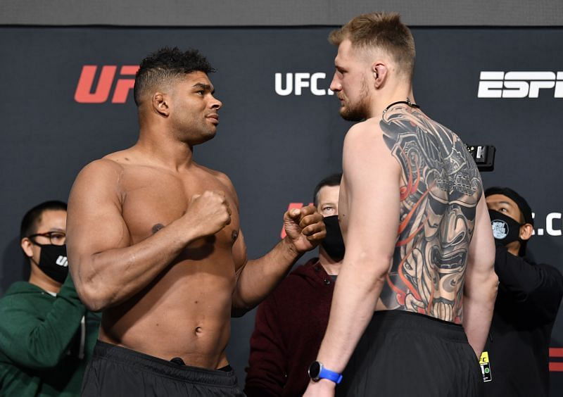 UFC Fight Night Overeem v Volkov:  Weigh-Ins