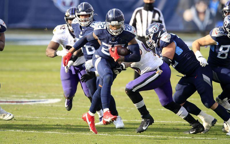 NFL Wild Card Round - Baltimore Ravens v Tennessee Titans