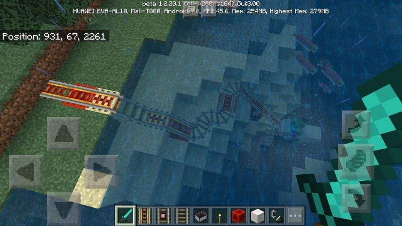 Travel and moving mobs is so much easier now (Image via Jira Minecraft)