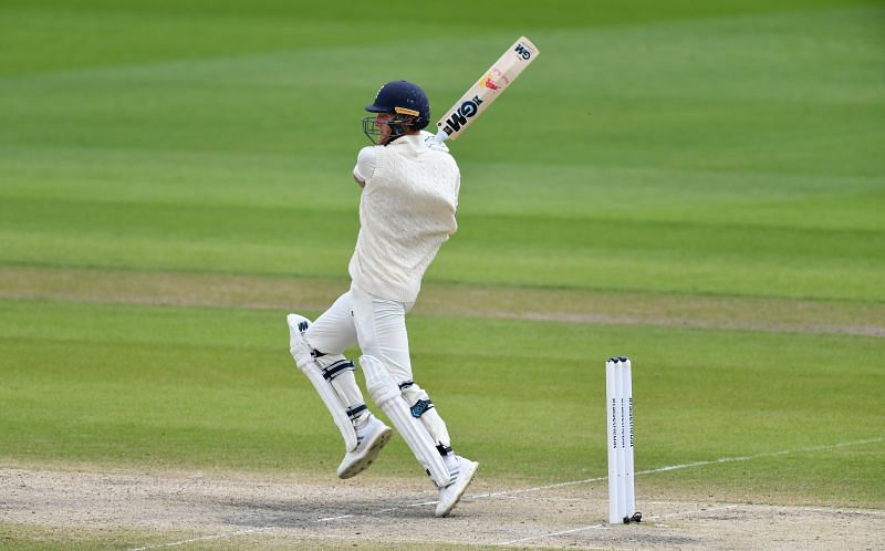 Ben Stokes struck 10 fours and three sixes during his knock