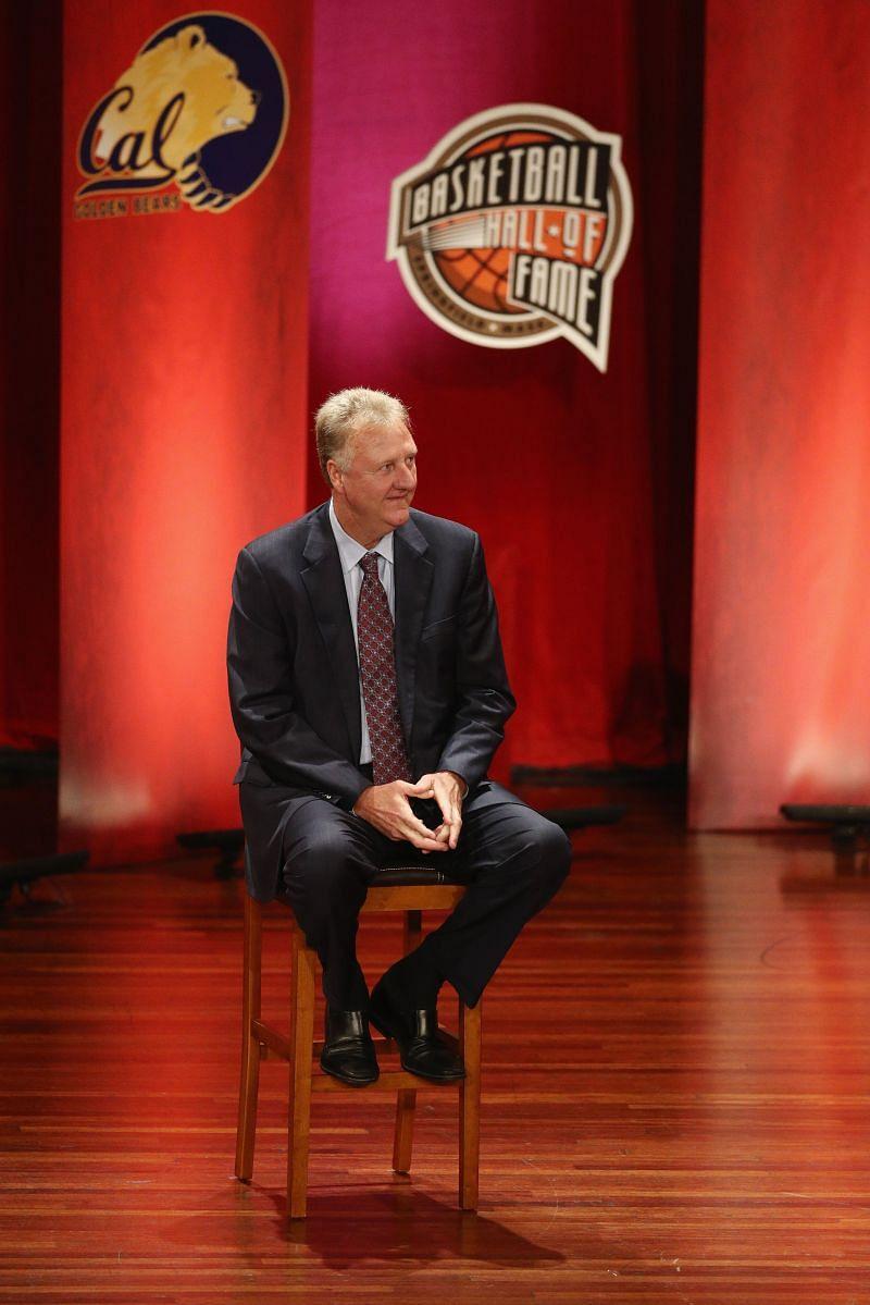 Larry Bird 2018 Basketball Hall of Fame Enshrinement Ceremony