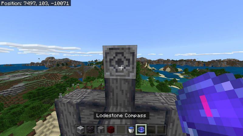 Loadstone in Minecraft