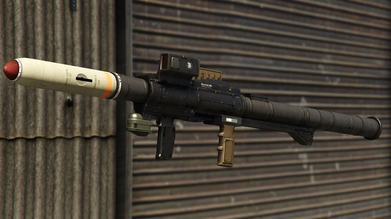 Weapons in GTA Online are capable of annihilating anything and anyone in their path (Image via GTA Wiki)