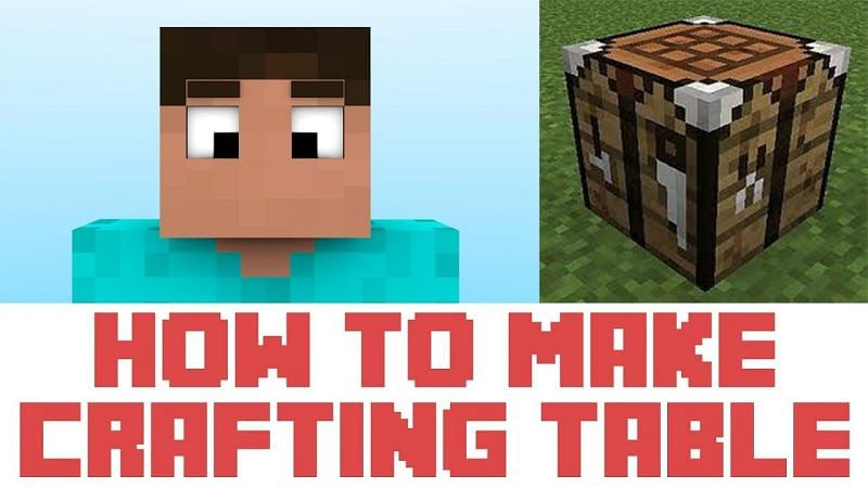 Making a crafting table