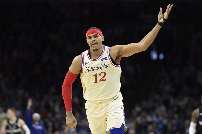 Tobias Harris of the Philadelphia 76ers