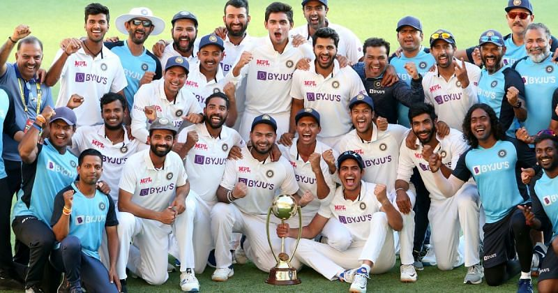 India beat Australia in the 2020-21 series Down Under