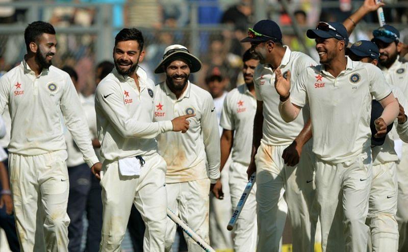 भारत बनाम इंग्लैंड, मुंबई 2016