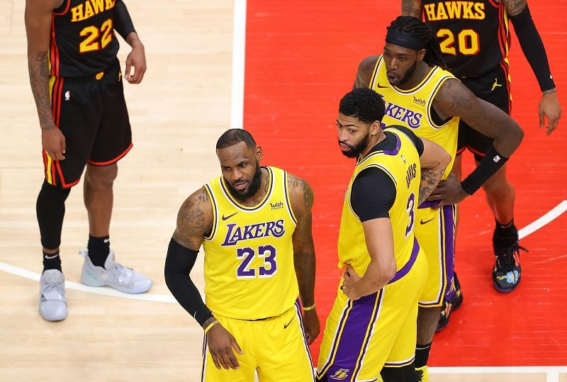 Both LeBron Jamse and Anthony Davis have been fit and firing for the LA Lakers this season.