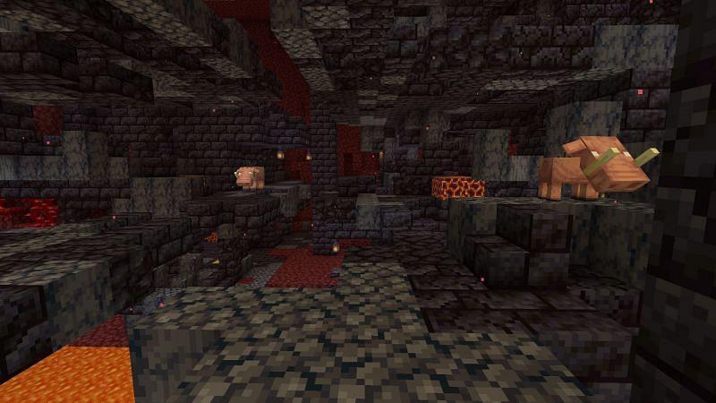 Cute piggy (Image via Minecraft)