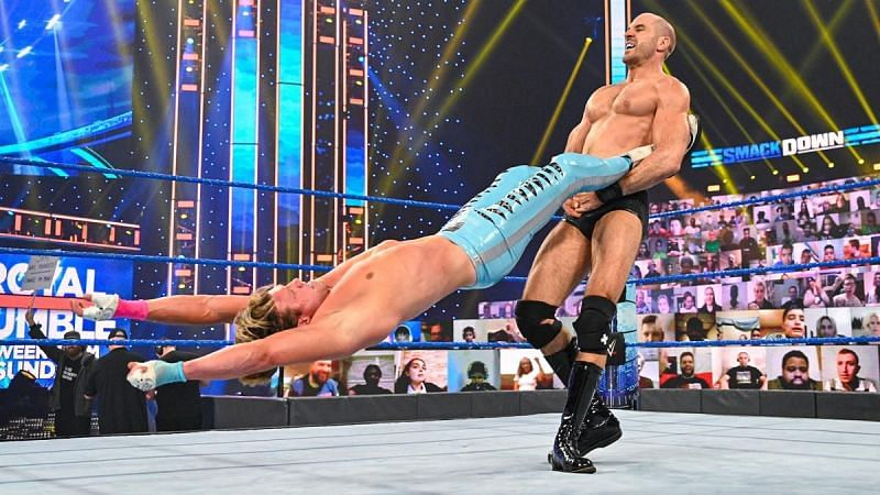 Cesaro recently picked up some notable wins on SmackDown