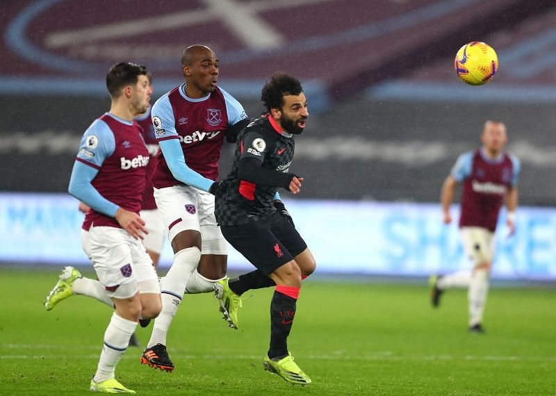 West Ham United and Liverpool went into this game in fifth and fourth place respectively