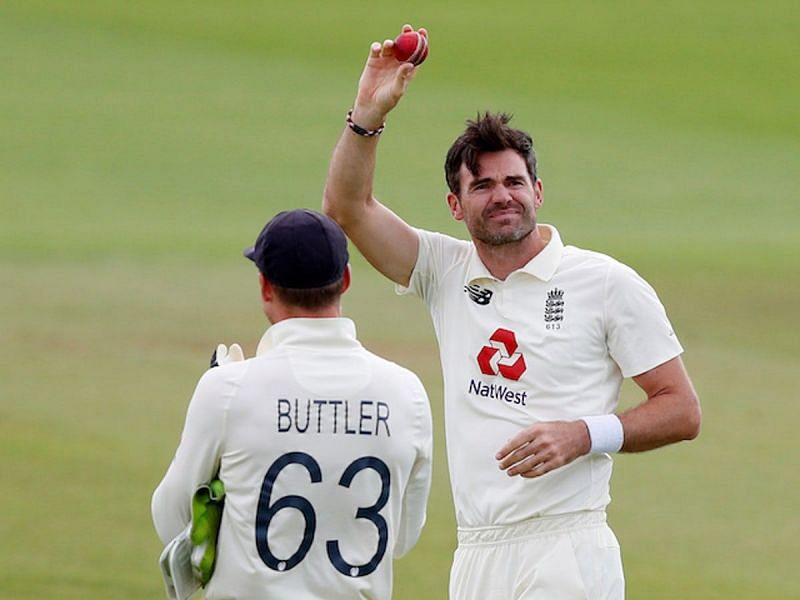 James Anderson picked 5 wickets in the first Test