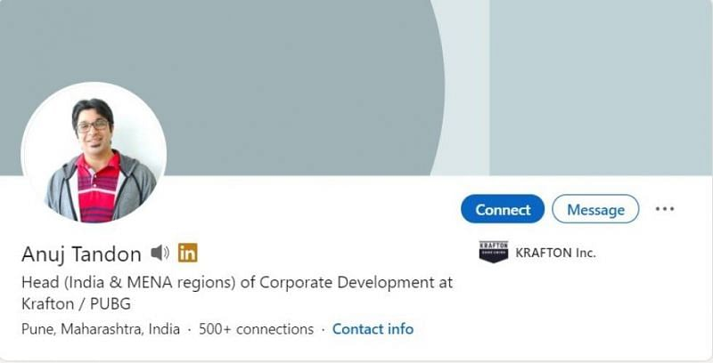 Krafton's Head of Corporate Development