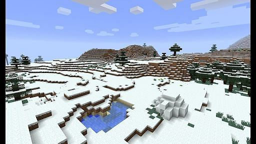 Not much happens within the Snowy Tundra Minecraft biome.