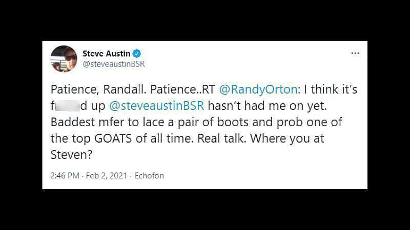 स्टीव ऑस्टिन का जवाब