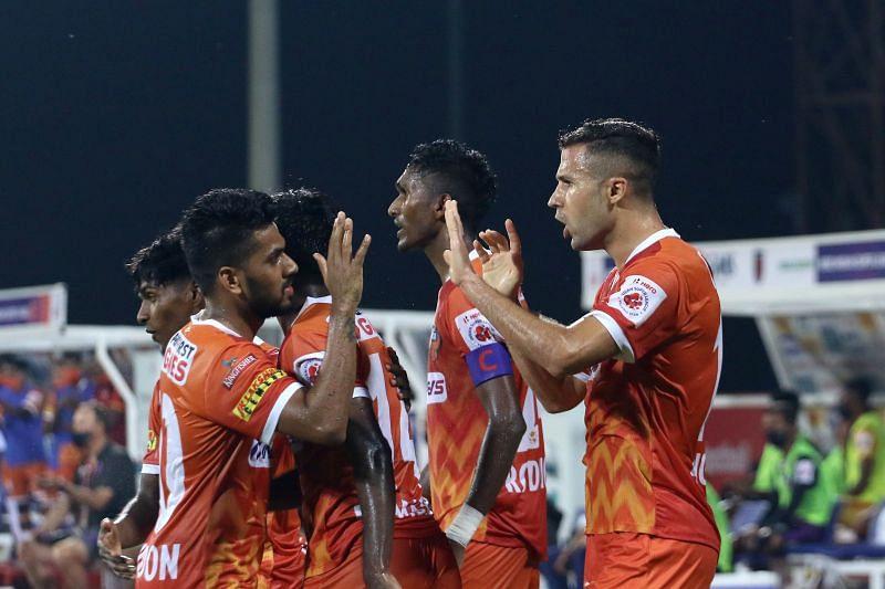 Igor Angulo scored yet another goal to help FC Goa win. Courtesy: ISL